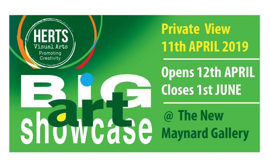 Herts Visual Arts Big Art Showcase 12th April – 1st June 2019